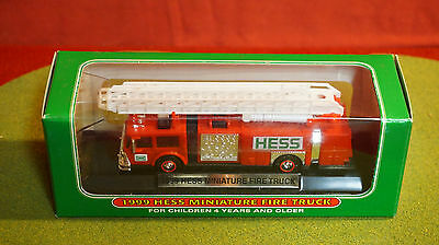 1999 Miniature Hess Fire Truck