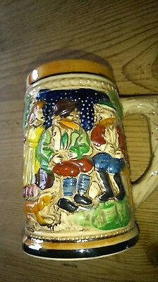 Small Beer Stein/jug, 10.5cm high.
