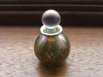 IOW Studio Glass Miniature Perfume Bottle