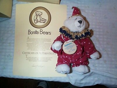 Bonita Bear Sorcerer-by Applause-# 481 of 5000-with Cert.-New in Box