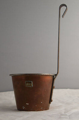 Vintage Copper Ale Measure Or Ladle