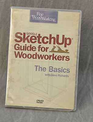 Google Sketchup Guide for Woodworkers DVD