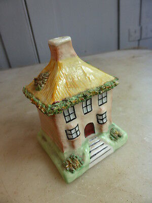 Small antique Staffordshire house ornament moneybox