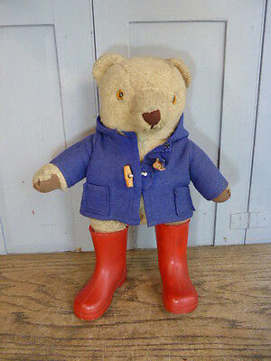 Vintage Paddington bear toy