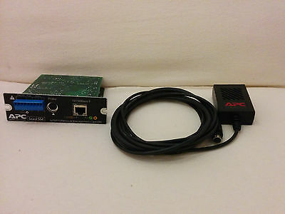 APC AP9619 Web/SNMP Management Card with Environmental Monitoring