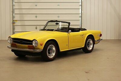 1973 Triumph TR-6  1973 Triumph TR6*Classic British Sports Car*4-Speed Manual*2.5L Inline 6Cyl