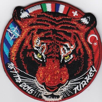 Turkey TuAF air force NTM 2015 nato tigermeet Koyna patch