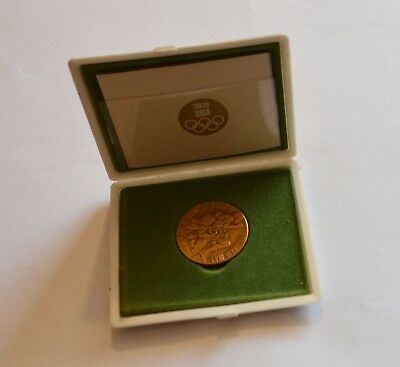 Olympic Games bronze Medal from tokyo 1964 Olympia Olimpiadi! ORIGINAL with box