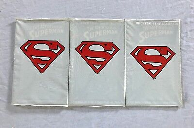 Lot Of 3 The Adventures Of Superman Comics #500 (Dc,1993) Modern Age