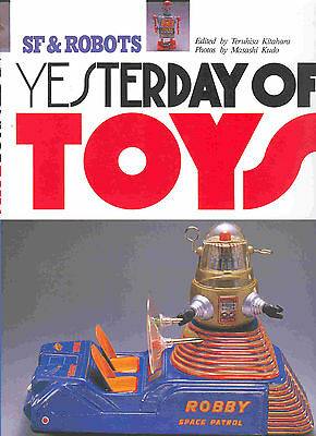 """yesterday Of Toys--Vol. 3 - Robots "", Printed In Japan, Arbeitsexemplar !"
