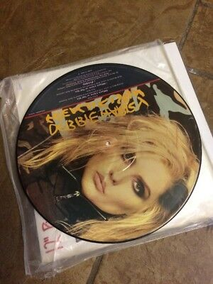 Blondie Deborah Harry French Kissin In The USA 12 Inch Vinyl Picture Disc