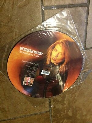 Blondie Deborah Harry 12 Inch Vinyl Picture Disc Sweet And Low