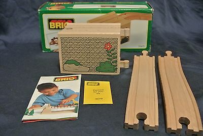 Genuine BRIO Sweden Wooden Railway 33470 Over Under Bridge - New in Box