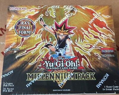 Yugioh Millenium Booster Box 1st Edition FACTORY SEALED