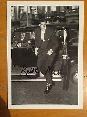 1950s Keith Miller Australia Test Player Signed Postcard by MRR ltd unposted