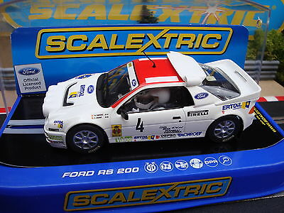 C3305 BRAND NEW BOXED SCALEXTRIC FORD  RS200  No4 CAR - MORE CARS FOR SALE