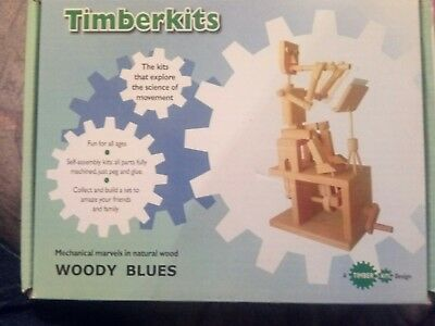 Timberkits - Woody Blues - mechanical marvels in wood