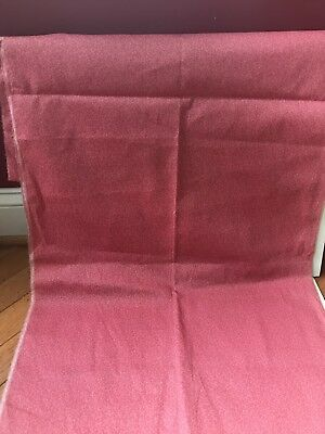 Super Piece Of Old Primitive Pink Calico Cotton Fabric