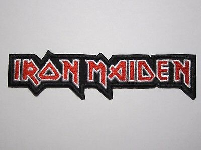 IRON MAIDEN logo embroidered NEW patch heavy metal