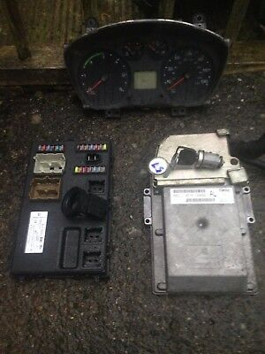 Transit Mk7  2007 -2014  2.2 Ecu Complete Kit, Ecu - Key - Chip - Pcm - Clocks