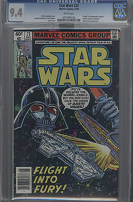 Star Wars #23 (1979) Cgc 9.4 Darth Vader Cover White Pages