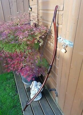 Recurve Bow 28lb, Redwood effect Horse Bow, Archery adult youth.