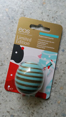 Eos Lip Balm Limited Edition Peppermint Mocha - NEU in der Originalverpackung