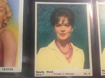 Natalie Wood  Misc. Card From Holland