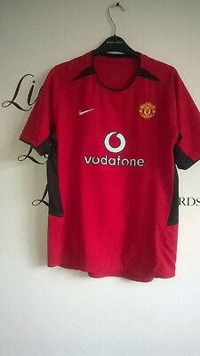 Nike Vodafone Manchester United home football shirt  2002-2003 size XL