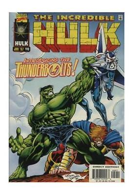 The Incredible Hulk #449 1997 Marvel 1st Thunderbolts Signed By Peter David