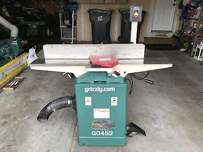 "Grizzly G0452 6"" x 48"" Jointer"
