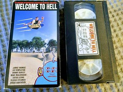 Toy Machine Bloodsucking Welcome to Hell Original 1996 Skateboarding VHS Tape