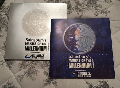 Sainsbury's Makers of The Millennium Medal Coin Collection (Complete Full Set)