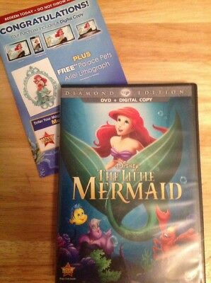 The Little Mermaid (DVD, 2013, Diamond Edition)Authentic Disney US RELEASE