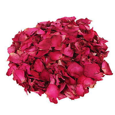 100g Dried Rose Petals Natural Dry Flower Petal Spa Whitening Shower Bathing Bea