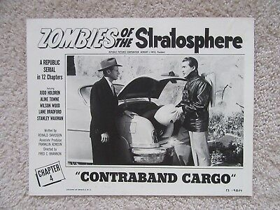 Zombies Of The Stratosphere Chap 4 Lc 11X14 Judd Holdren Nm