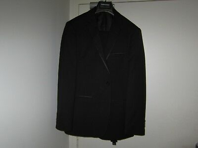Mens Suit Black - Tarocash