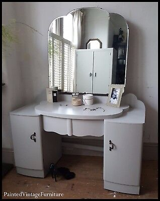 Painted Vintage Dressing Table Farrow & Ball