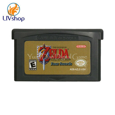 The Legend of Zelda A Link to the Past Four Swords GBA Game Boy Advance