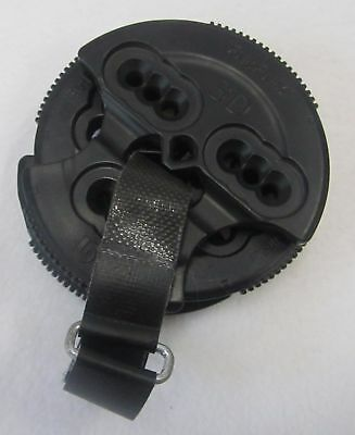 Burton Snowboard Binding Hole Pattern Display Disk Samples: 4X4, 3D, & Channel