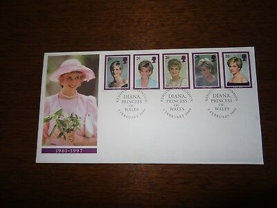 First Day Cover - Diana Princess of Wales -3Feb1988