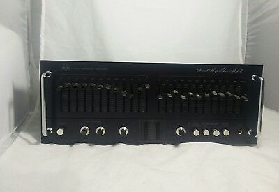 ADC Sound Shaper Two Mark II SS-2 Stereo Frequency Equalizer