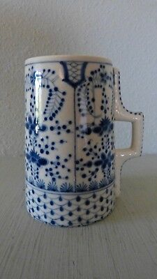 Zsolnay Pre-1900 Beautifully Detailed Mug TJM Mark