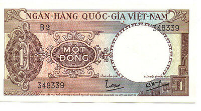 SOUTH VIETNAM 1 Dong  ND1964 EF Condition Historical Note!