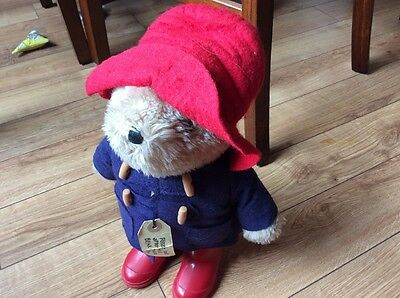 Paddington Bear Eden Toys 1981 Plush