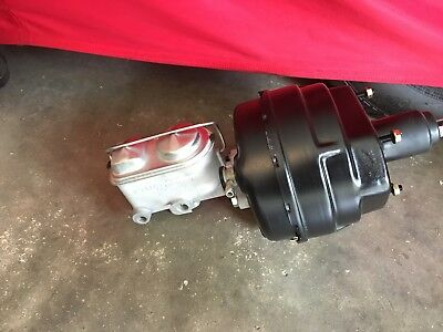 Lc Lj Torana V8 Booster And Master Cyl Set Up