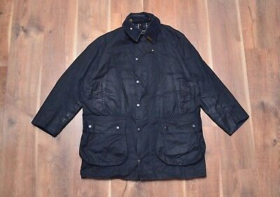 Barbour Men's Border A205 Waxed Jacket C42/107CM Fishing Hunting Mint