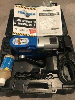 Hougen HMD130 Ultra Low Profile Magnetic Drill USA MADE - In Stock - Ships Today