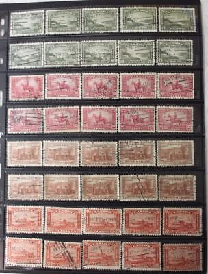 Canada #225, 223, 243 & 175 x 10 Of Each Used, Wholesale Lot, No Tears Or Thins