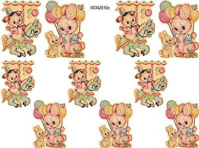 VinTaGe CaRNiVaL ShaBby DeCALs ~SMaLLeR SiZeS~